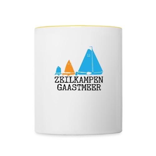 ZKG Zwart Merchandise - Mok tweekleurig
