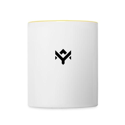 Logo Merch Design - Tasse zweifarbig