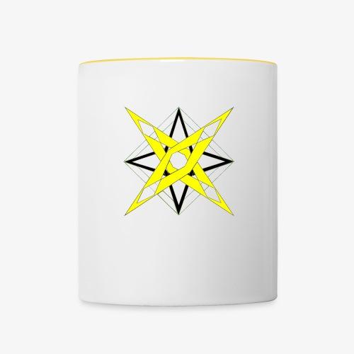 dessin 5 - Mug contrasté
