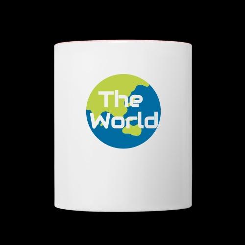 The World Earth - Tofarvet krus