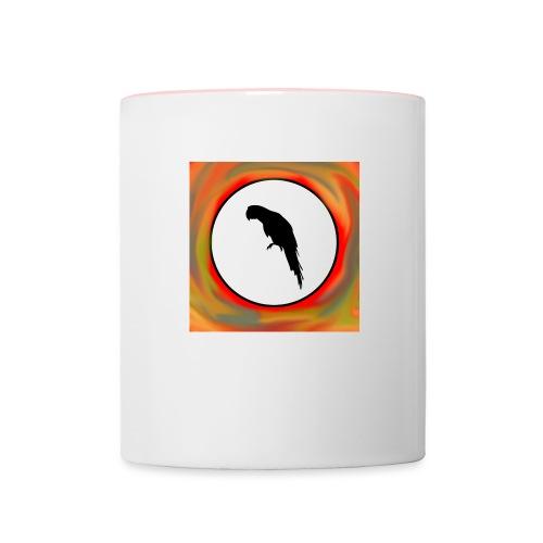 Papagei - Tasse zweifarbig