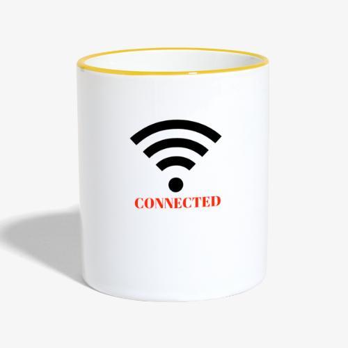 CONNECTED - Tvåfärgad mugg