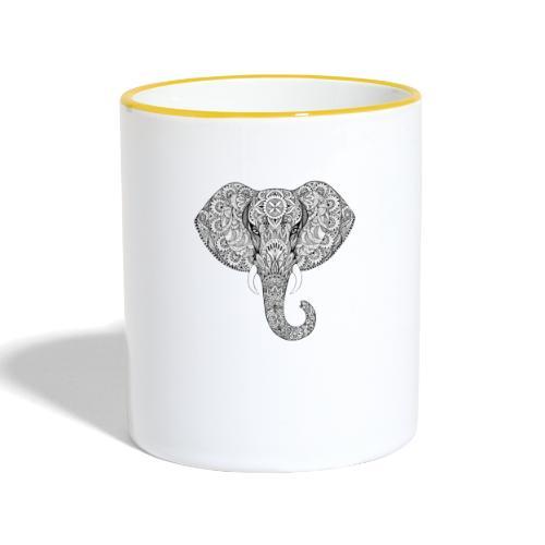 Elephant - Mug contrasté
