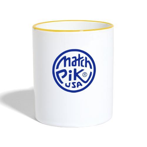 Scott Pilgrim s Match Pik - Contrasting Mug