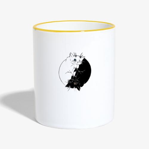 Yin and Yang - Mug contrasté