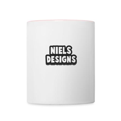 NielsDesignsYT - Mok tweekleurig