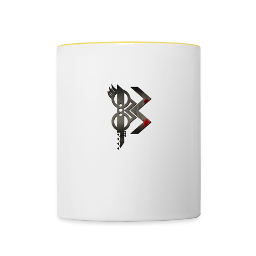 viking lettre B - Mug contrasté