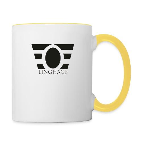 LINGHAGE - Tvåfärgad mugg
