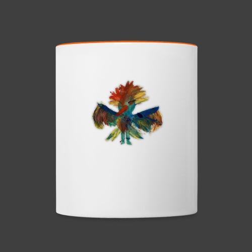 Mayas bird - Contrasting Mug
