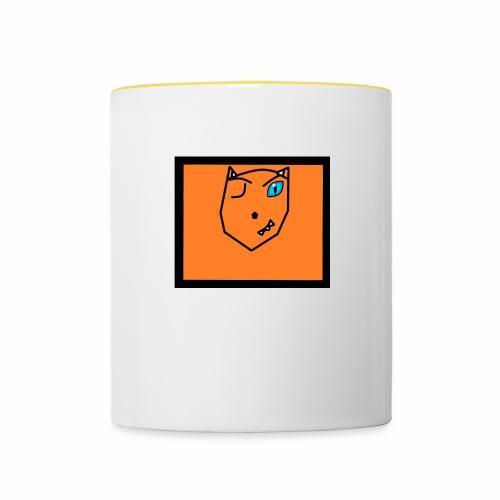 Unbenannt - Tasse zweifarbig