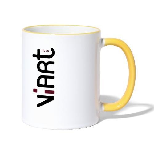 ViArt asbl Logo - Tasse zweifarbig