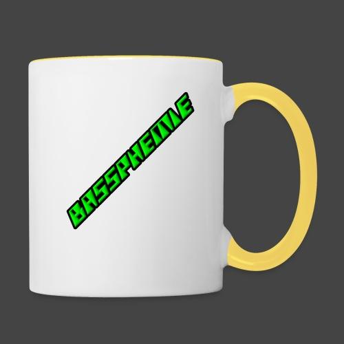 Bassphemie - Neongrün - Tasse zweifarbig