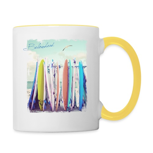 Surfs up - Tasse zweifarbig