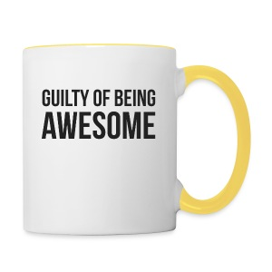 Guilty of being Awesome - Contrasting Mug