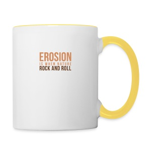 When Nature Rock And Roll - Contrasting Mug