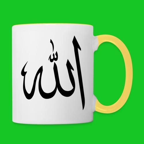 Allah - Mok tweekleurig