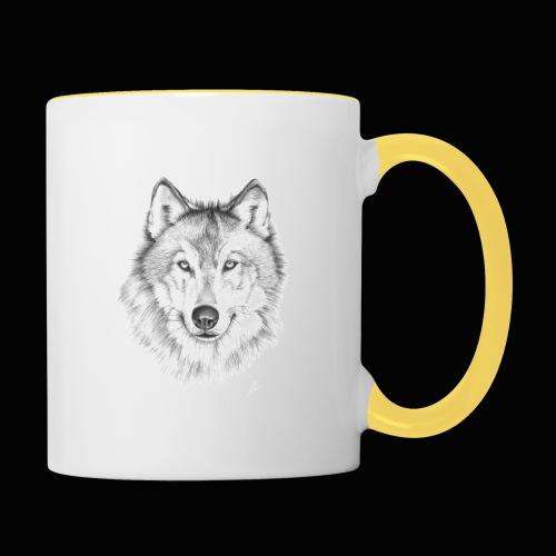 Wolf - Tofarvet krus
