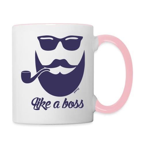 Comme un boss (H) - Mug contrasté