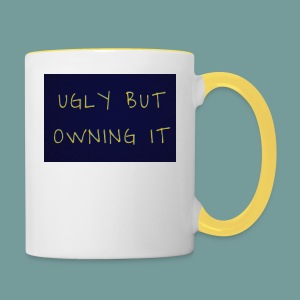UGLY BUT OWNING IT - Contrasting Mug