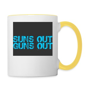 Felpa suns out guns out - Tazze bicolor