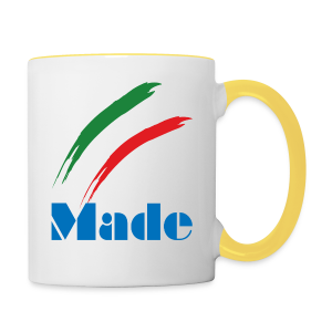 Italy Made - Tazze bicolor