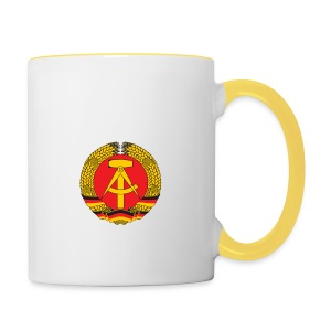 DDR - German Democratic Republic - Est Germany - Tasse zweifarbig