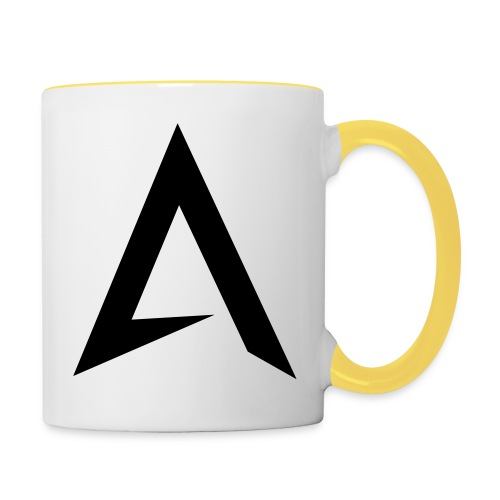 alpharock A logo - Contrasting Mug