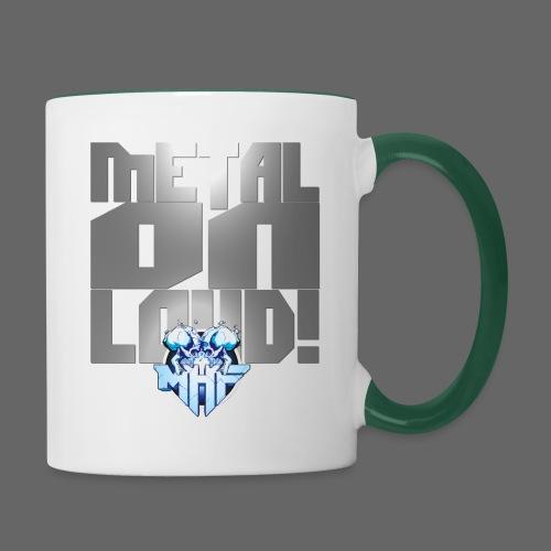 metalonloud large 4k png - Contrasting Mug
