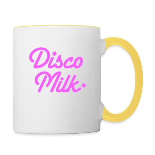 Disco Milk Logo_pink - Tazze bicolor