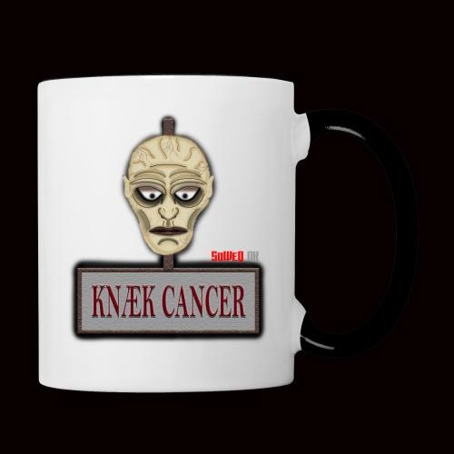 Knæk Cancer Kollektion ! - Tofarvet krus