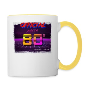 Official product of the 80's clothing - Contrasting Mug