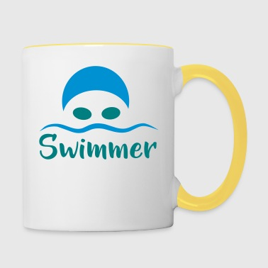 pływak - Kubek dwukolorowy