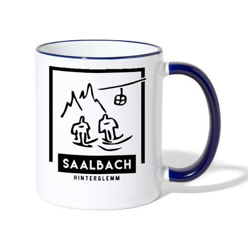 Skido's Saalbach - Mok tweekleurig