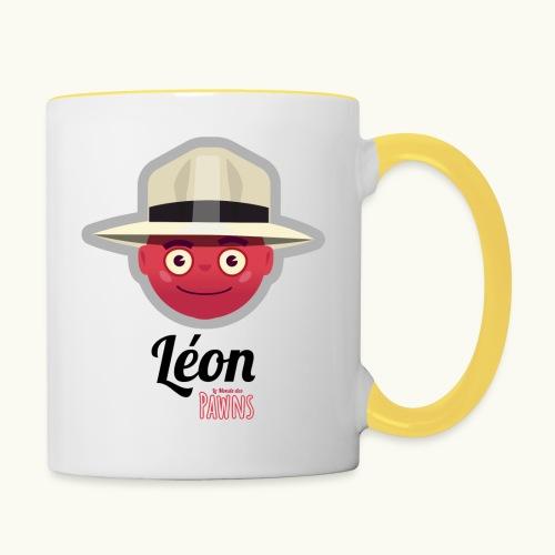 Leon (Le Monde des Pawns) - Mug contrasté