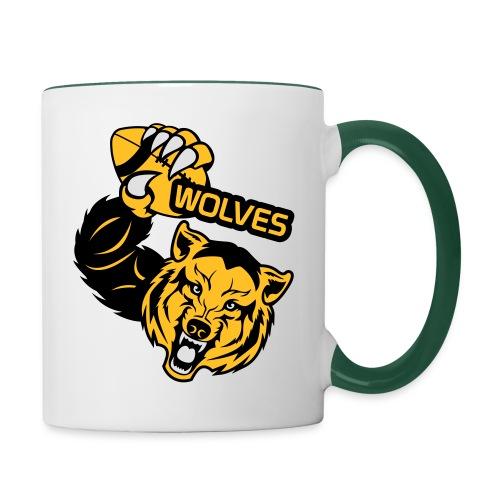 Wolves Rugby - Mug contrasté