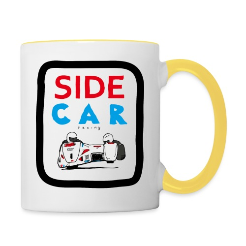SIDE car racing - Mug contrasté