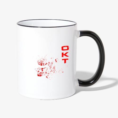 Outkasts Scum OKT Front - Contrasting Mug
