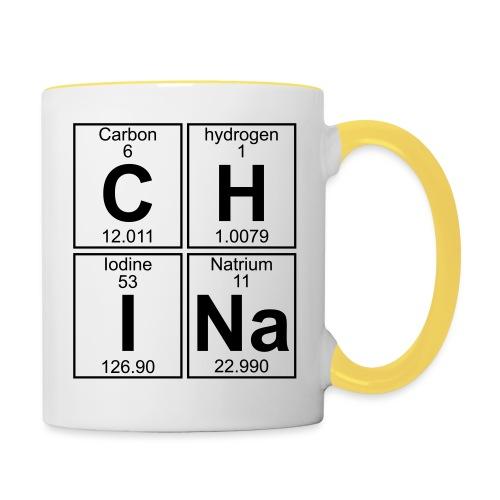 C-H-I-Na (china) - Full - Contrasting Mug