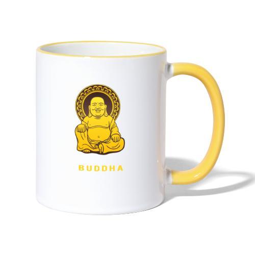 Funky Buddha - Tasse zweifarbig