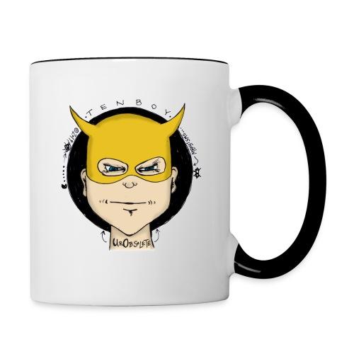 Tenboy U R Obsolete - Contrasting Mug