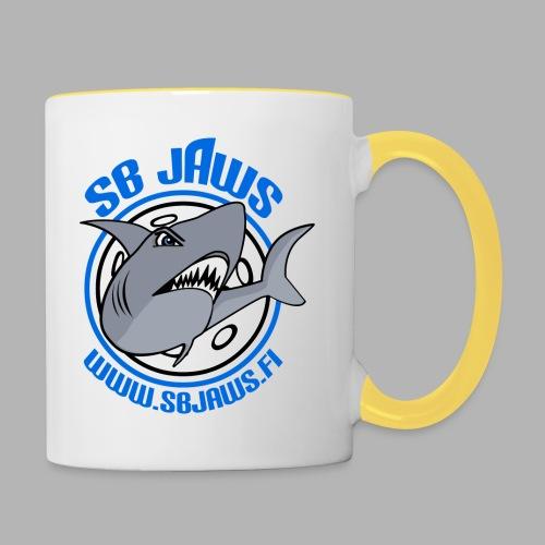 SB JAWS - Kaksivärinen muki