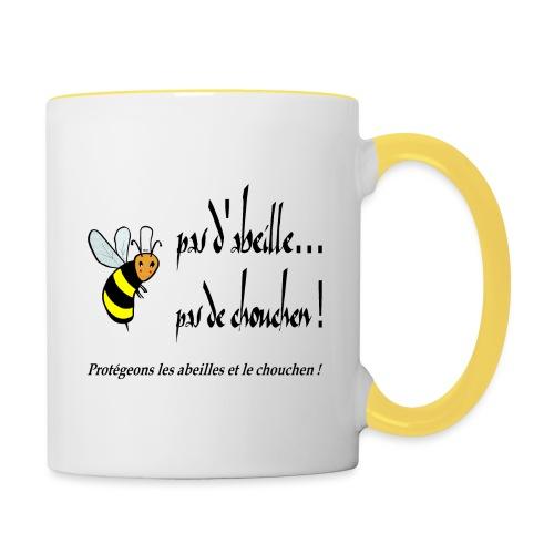 Pas d'abeille, pas de chouchen - Mug contrasté