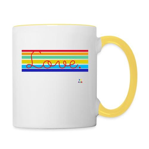 Love School Rainbow - Mug contrasté