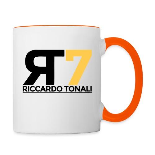 logo_riccardoTonali_new - Tazze bicolor
