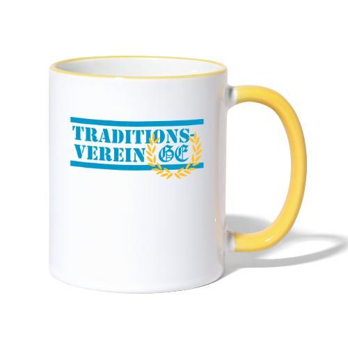 Traditionsverein - Tasse zweifarbig