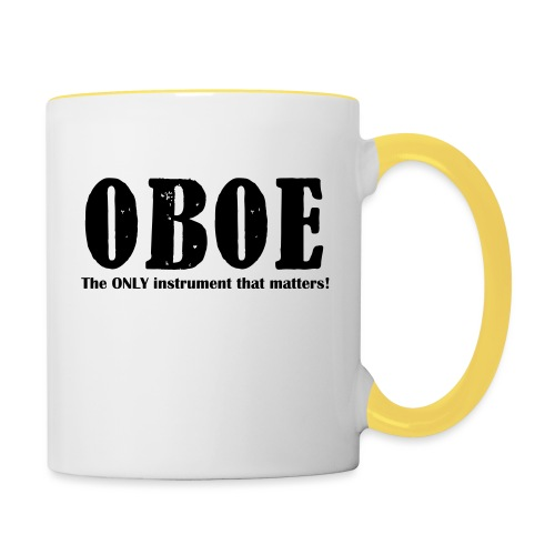 Oboe, The ONLY instrument - Contrasting Mug