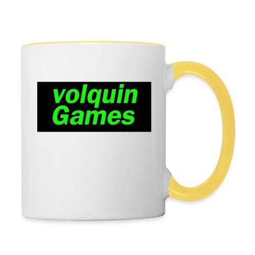 volquin - Mok tweekleurig