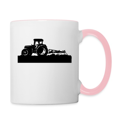 Tractor with cultivator - Contrasting Mug