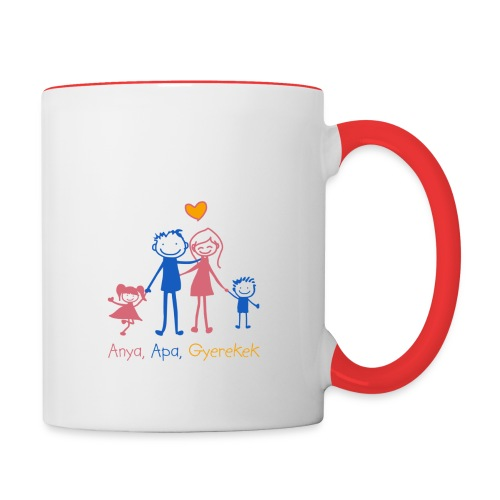 Anya Apa Gyerekek - Contrasting Mug