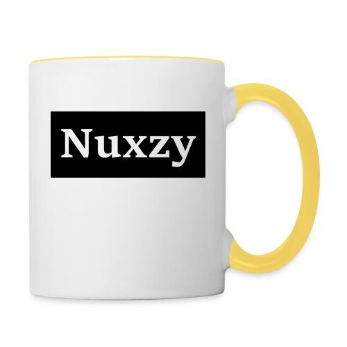 Nuxzy sweatshirt - Tofarvet krus